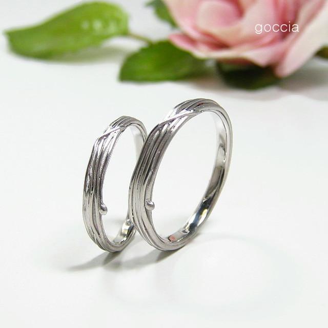 つる・植物・結婚指輪
