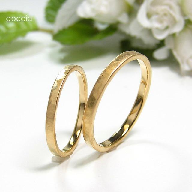 細め・華奢な結婚指輪