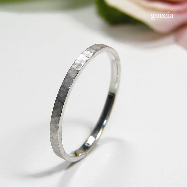 プラチナの指輪・リング