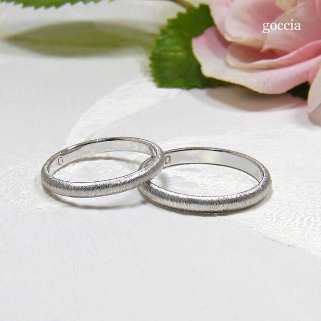 結婚指輪・甲丸デザイン