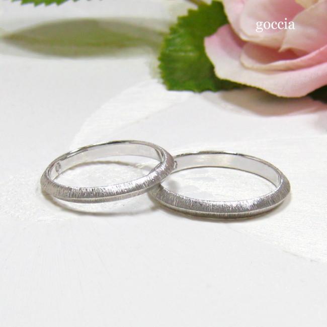 剣腕の結婚指輪