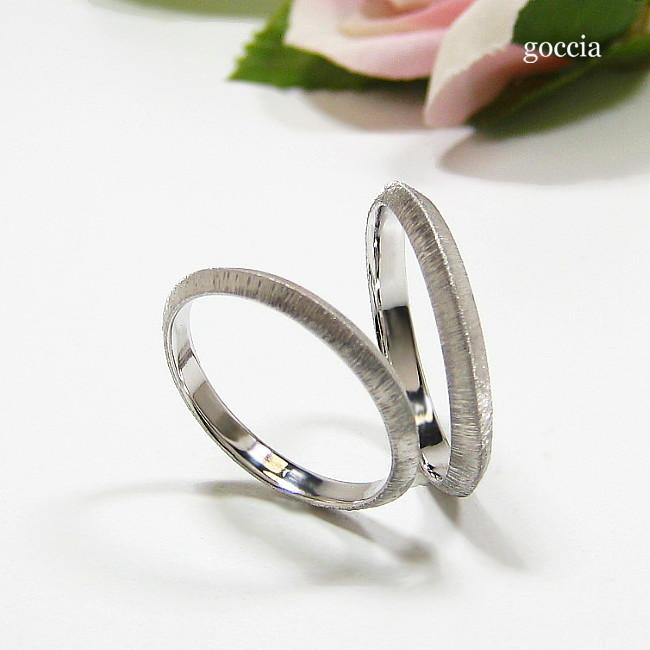 シンプルな結婚指輪・マリッジリング