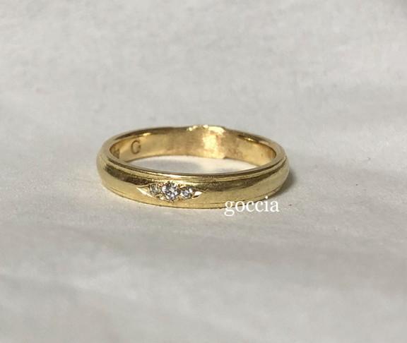 結婚指輪のサイズ直し