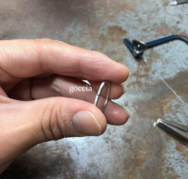 結婚指輪のパーツ・プラチナ