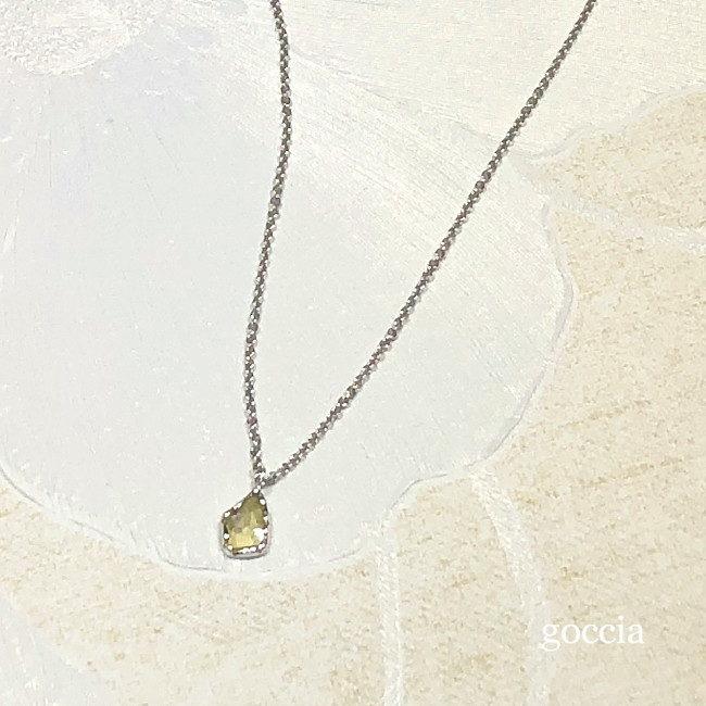 スライスカットダイヤ・プラチナ